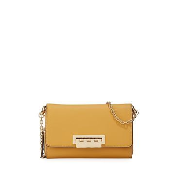 Eartha Leather Crossbody Wallet Bag