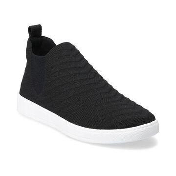 Sonoma Goods For Life Armadillo Women's Sneakers, Size: 7.5, Black