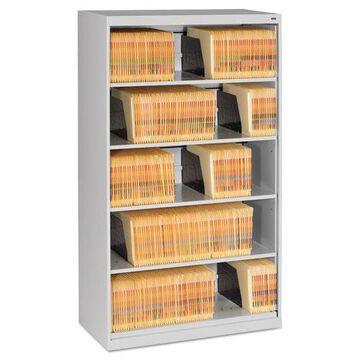 Tennsco Open Fixed 5-Shelf Lateral File