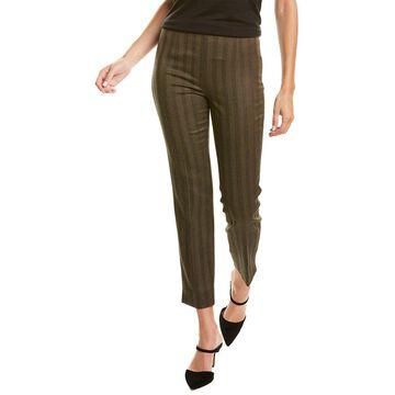Les Copains Wool-Blend Straight Leg Pant
