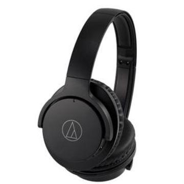 Audio Technica QuietPoint Wireless Active Noise-Cancelling Headphones - Black