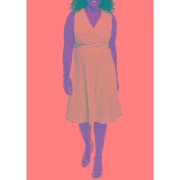Ronni Nicole Women's Plus Size Pointelle Dress - -