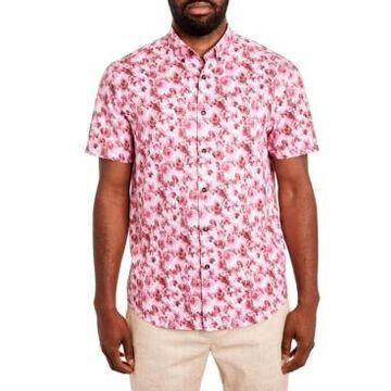 Tallia Men's Paisley Short Sleeve Shirt