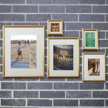 Gold Frame Set By Studio Decor