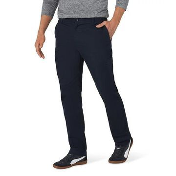 Men's Lee Performance Series Straight-Fit Extreme Comfort Cargo Pants, Size: 38X29, Dark Blue