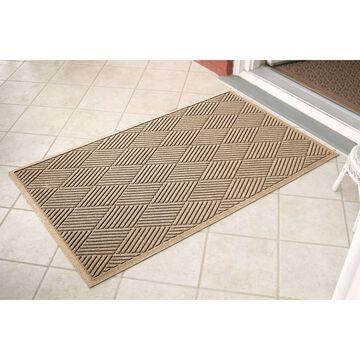 Bungalow Flooring 3-ft x 5-ft Camel Rectangular Indoor or Outdoor Door Mat in Brown   844500035