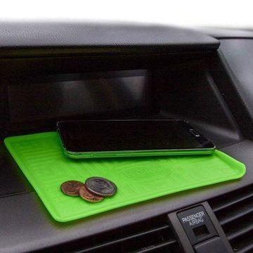 FH Group Odorless Waterproof Silicone Anti Slip Dash Mat, Green