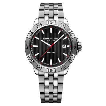 Raymond Weil 8160-ST2-20001 Mens Tango Black Quartz Watch