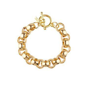 round-link chain bracelet