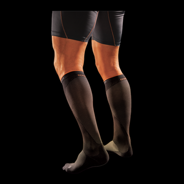 Shock Doctor 727 SVR Recovery Compression Socks, Adult XS, BLACK