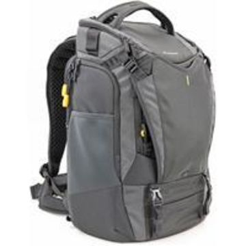 Vanguard Alta Sky 53 Backpack for 1-2 Pro DSLR Camera with Attached Lens (Up to 300mm f/2.8 Lens), 6-8 Lenses, 2 Flash Units and Accessories, or a Drone with Accessories + 1 Pro DSLR with Attached Lens, Dark Gray