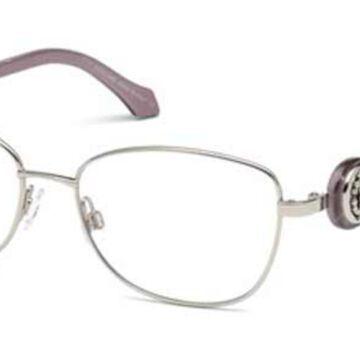 Roberto Cavalli RC 5027 CALCINAIA 016 Womenas Glasses Silver Size 54 - Free Lenses - HSA/FSA Insurance - Blue Light Block Available