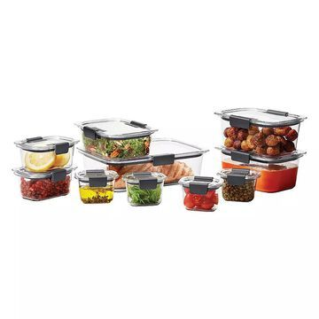 Rubbermaid Brilliance 20 pc. Food Storage Set, Multicolor