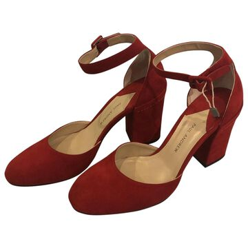 Paul Andrew \N Red Suede Sandals