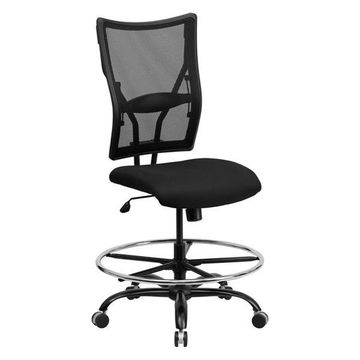 Flash Furniture Black Drafting Stool
