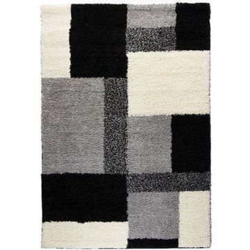 Well Woven Madison Shag Cubes Contemporary Area Rug