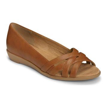 A2 by Aerosoles Women's Fanatic Strappy Peep Toe Wedges