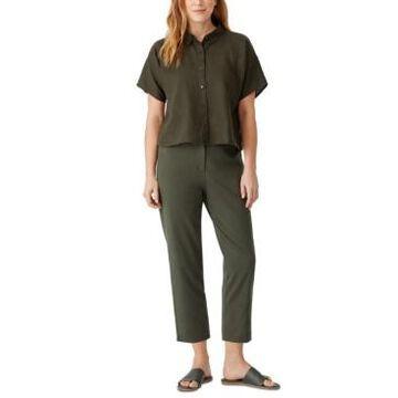 Eileen Fisher Tapered Capri Pants