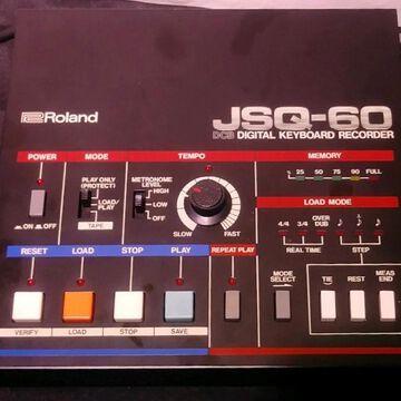 Vintage 1980s JSQ-60 Keyboard Workstation