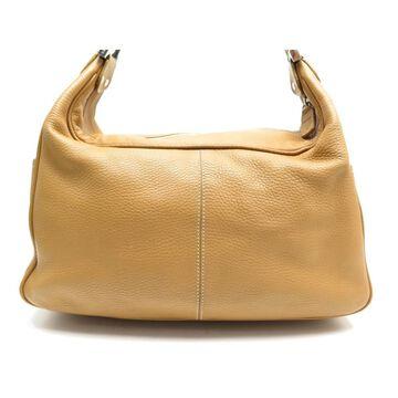 Tod's Camel Leather Handbags