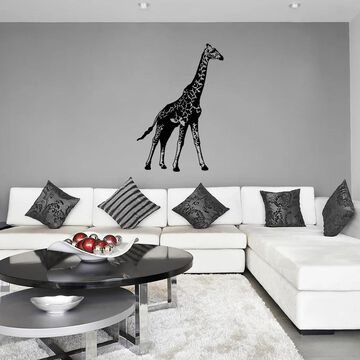Style and Apply Giraffe Vinyl Wall Decal