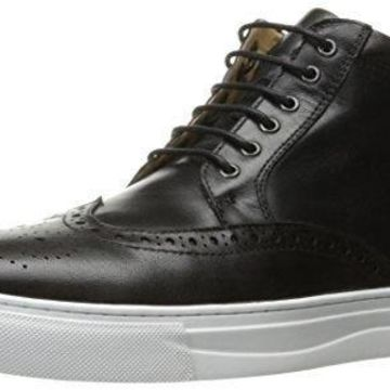 English Laundry Men's Calpham Fashion Sneaker, Black, 10 M US