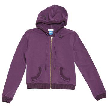 Pinko Purple Cotton Knitwear