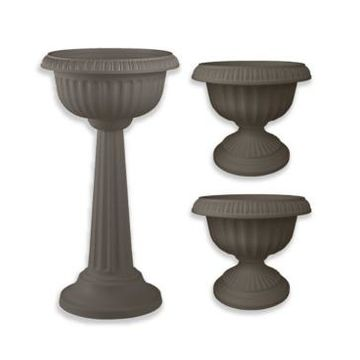 Bloem Grecian Set of 3 Classic Urn Planter