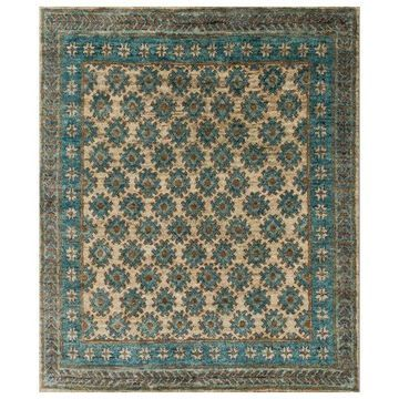 Loloi Rugs Nomad Collection Beige and Ocean, 2'6