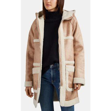 AVEC LES FILLES Reversible Hooded Coat