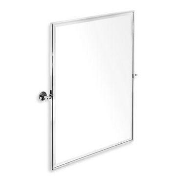 Gatco Latitude II 27.63-Inch x 32.5-Inch Framed Rectangular Mirror in Chrome