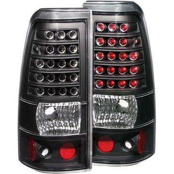 ANZO USA 311009 03-06 SILVERADO LED TAIL LIGHTS LED BLACK