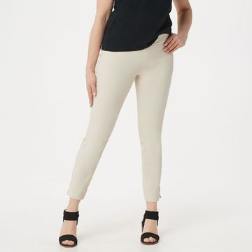 NYDJ Alina Pull-on Ankle Jeans -Feather