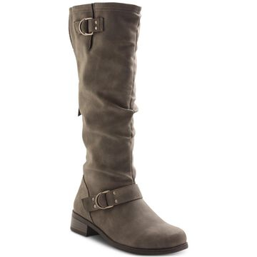 Xoxo Womens Minkler Closed Toe Knee High Fashion Boots