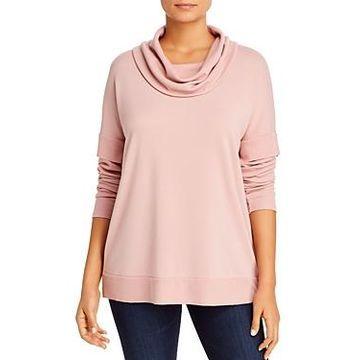 Cupio Terry Cowl-Neck Sweater