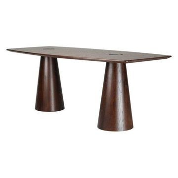 Fine Mod Imports Orchard Dining Table, Walnut