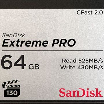 Sandisk Extreme Pro CFAST 2.0 64 GB Memory Card