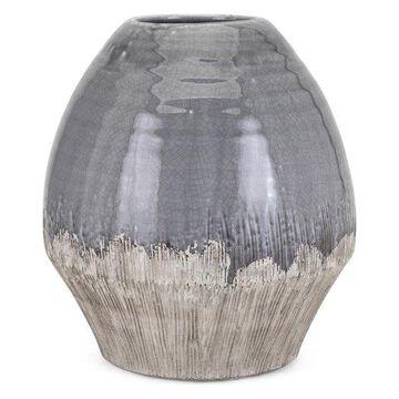 IMAX Home 25626 Edwin 11 1/4 Inch Tall Ceramic Vase