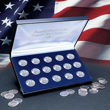 American Coin Treasures Complete Franklin Half Dollar Collection (Complete Franklin Silver Dollar Collection)