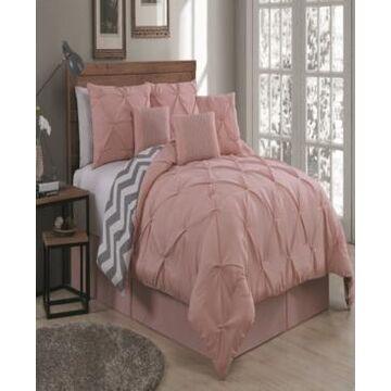 Ella 7 Pc King Comforter Set Bedding