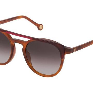 Carolina Herrera SHE790 0AHL Men's Sunglasses Tortoise Size 51