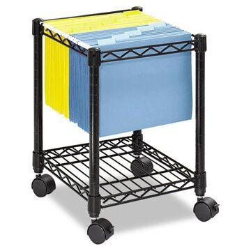 Safco Black File Cart | SAF5277BL