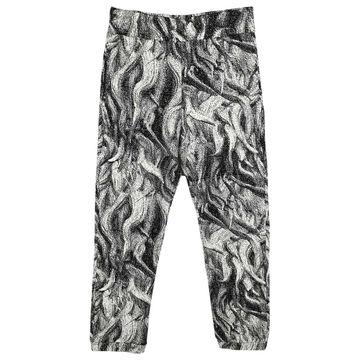 Christopher Kane Grey Cotton Trousers