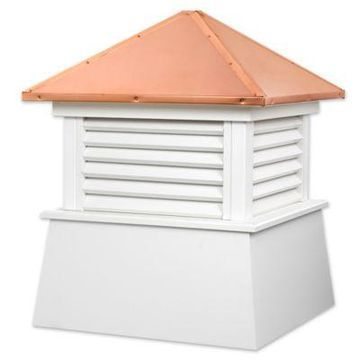 Good Directions Manchester 93-Inch Cupola in White/Copper
