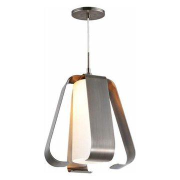 Woodbridge Lighting 14523 Bent 1 Light Pendant