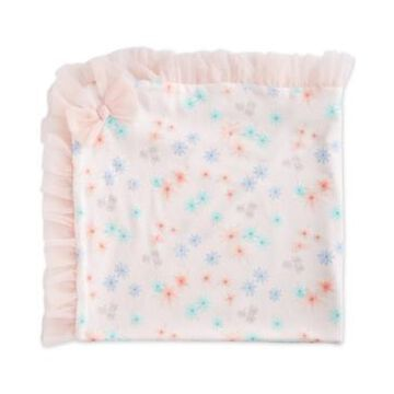First Impressions Baby Girls Floral Tulle Blanket, Created for Macy's