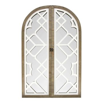 Stratton Home Decor Layla Gate Wall Mirror
