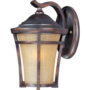 Maxim Lighting Balboa VX LED E26 1-Light 1-Light Outdoor Wall Mount in Copper Oxide