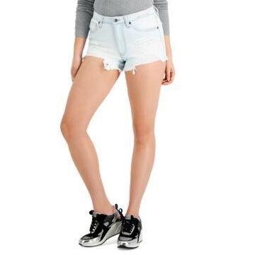 Kendall + Kylie Juniors' High-Rise Mom Shorts