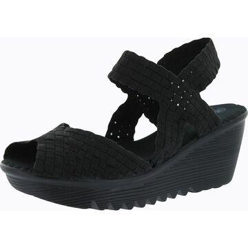 Bernie Mev Womens Fame Woven Sandals